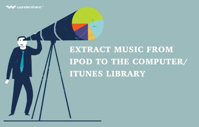 Extract Music from iPod to the Computer/iTunes Library