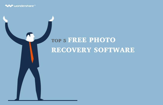 Top 5 Free Photo Recovery Software