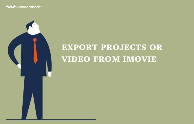 iMovie: Export Projects or Video from iMovie