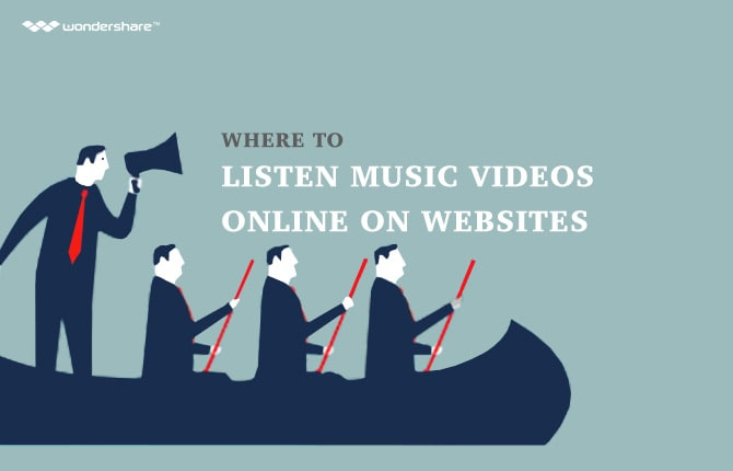 Where to Listen Music Videos Online on Websites