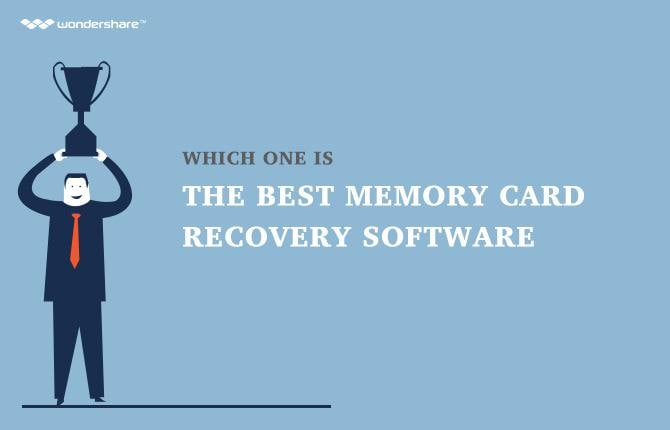 The Best Memory Card Recovery Software