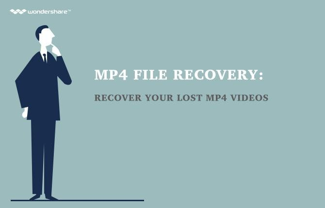 MP4 File Recovery: How to Recover Lost MP4 Videos