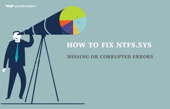 How to Fix NTFS.sys Missing or Corrupted Errors