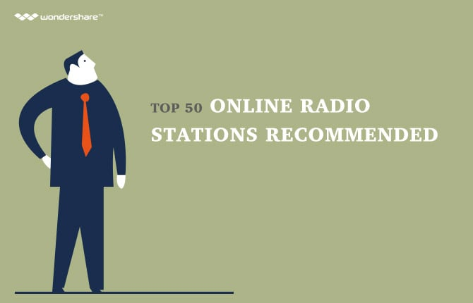 Top 50 Online Radio Stations Recommended