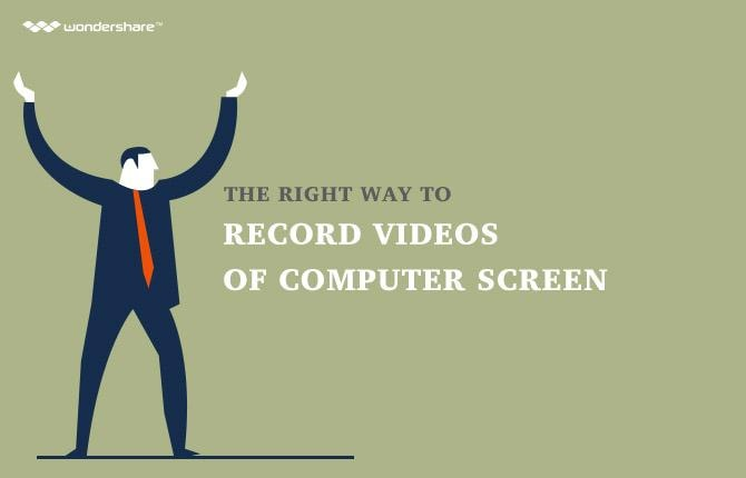 The Right Way to Record Videos of Computer Screen