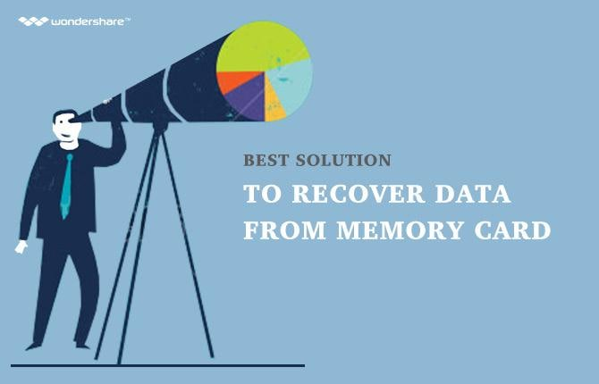 Best Solution to Recover Data from Memory Card