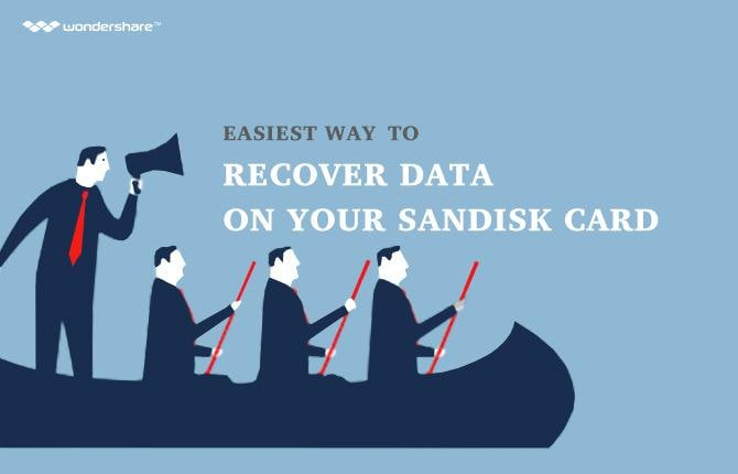 Easiest way to recover data on your SanDisk card