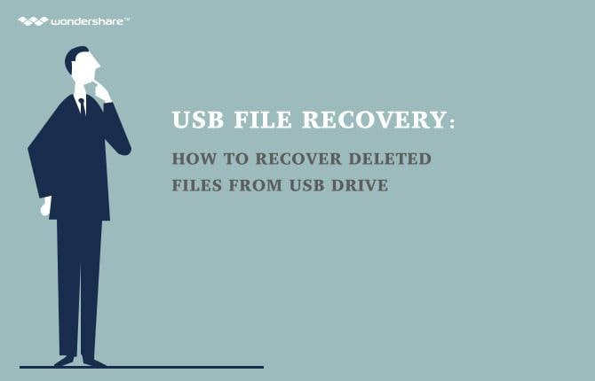 How to Recover Deleted Files from a USB Flash Drive