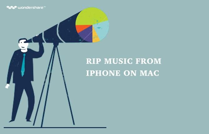 Rip Music from iPhone on Mac