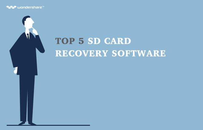 Top 5 SD card recovery software