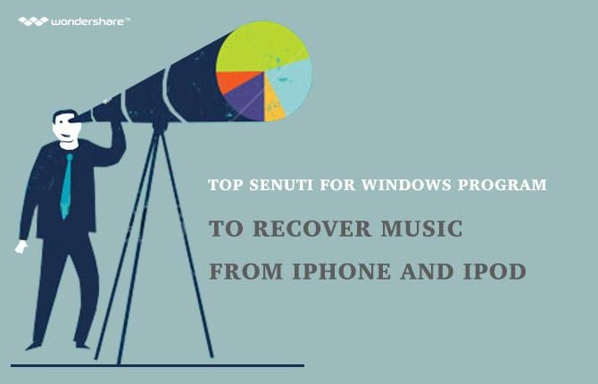 Top Senuti for Windows Programs to Recover Music from iPhone and iPod