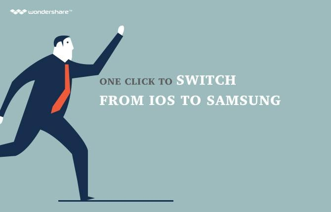 One Click to switch from iOS to Samsung