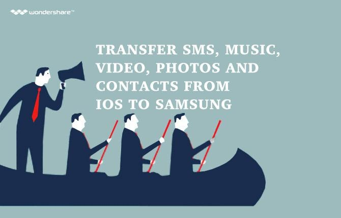 Easily Transfer SMS, Music, Video, Photos, Calendar and Contacts from iOS to Sam