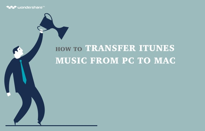 How to Transfer iTunes Music from PC to Mac
