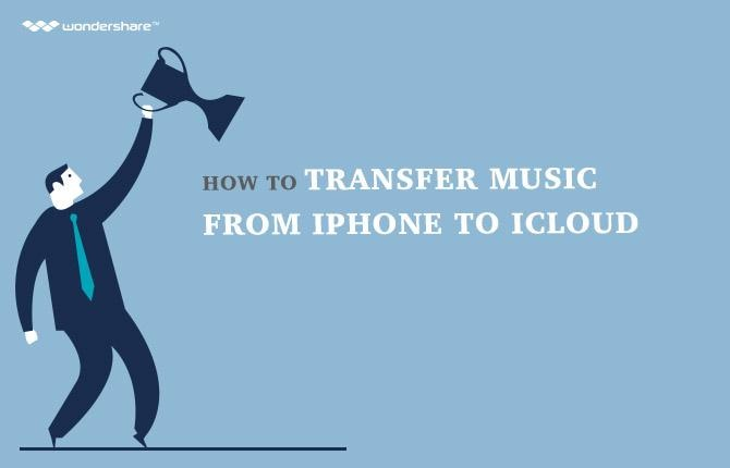 How to transfer music from iphone to icloud