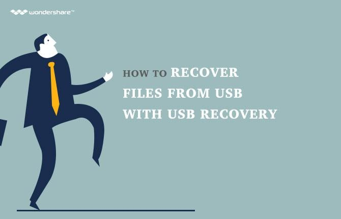 How to Recover Files from USB Flash Drive