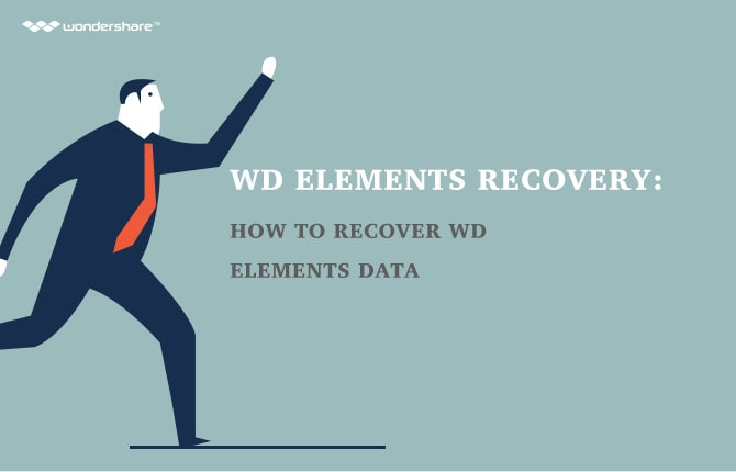 Western Digital Disk Recovery: How to Recover WD Elements Data