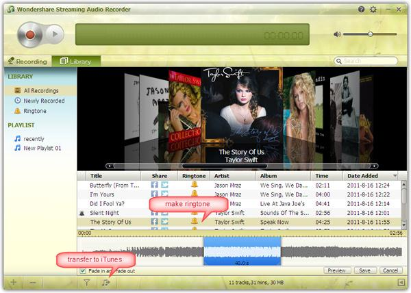 record kazaa music