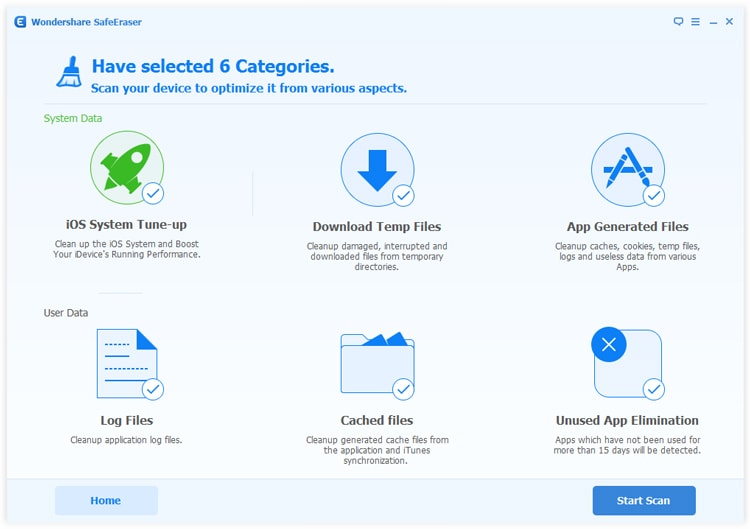 app generated files