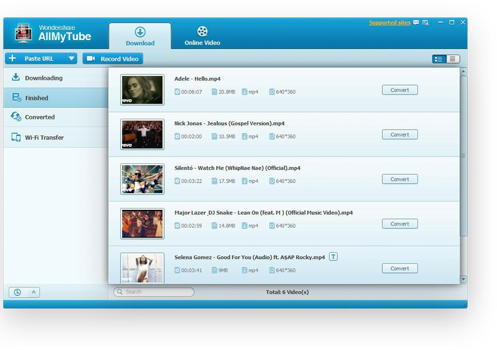 OFFICIAL] Wondershare AllMyTube: Video Downloader and YouTube