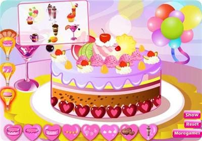 Cake Now-Cooking game