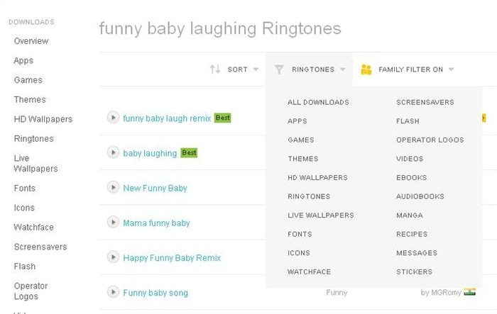 funny baby laughing ringtones free download for mobile