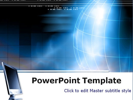 Free technology powerpoint templates wondershare ppt2flash for Free flash powerpoint presentation templates