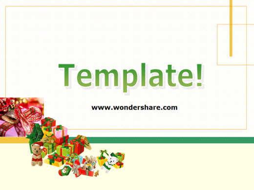 Wondershare ppt2flash for Flash powerpoint presentation templates