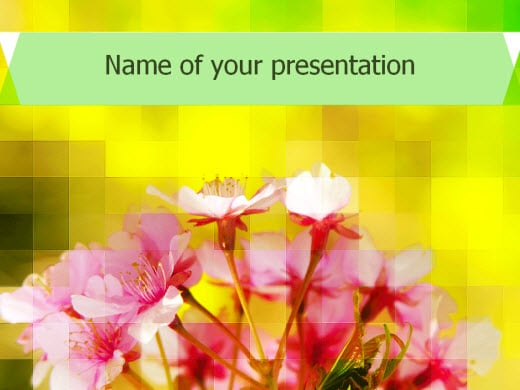 free nature powerpoint templates - wondershare ppt2flash, Powerpoint templates