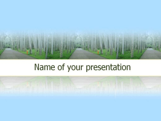 Free Nature Powerpoint Templates  Wondershare PptFlash