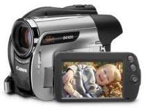 canon DVD camcorder DC420