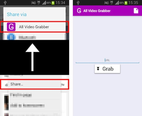 dailymotion downloader apps - All Video Grabber 2