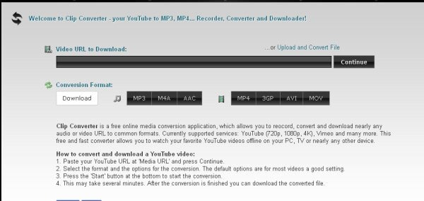 online dailymotion to mp4 converter - Clipconverter