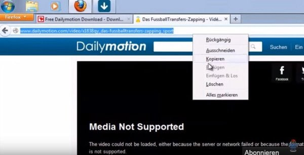 All ways to download dailymotion videos/movies