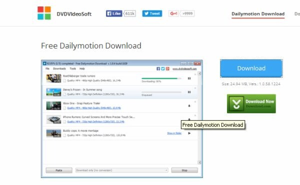download dailymotion videos songs - DVDVideoSoft