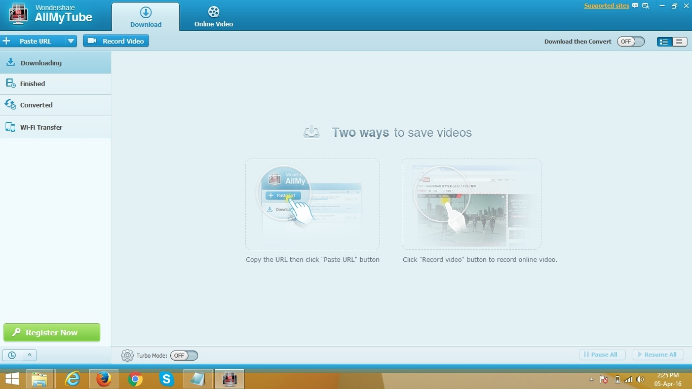 free dailymotion downloader - install allmytube