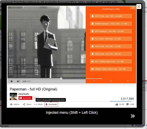Google chrome youtube mp3 downloader plugin.