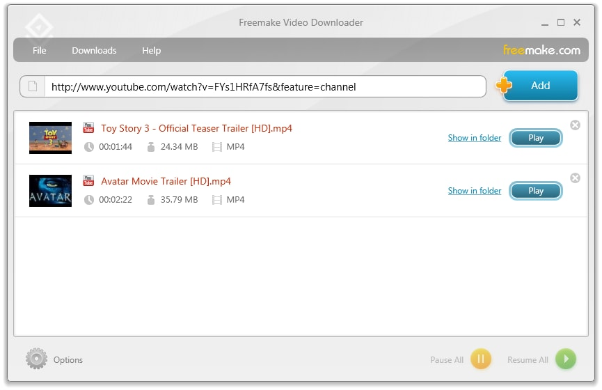 Howto download youtube video using free youtube downloader software?