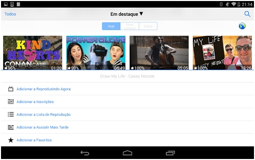best youtube offline app for Android