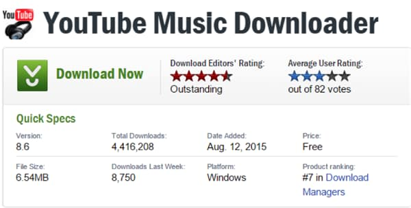 Top 10 Best youtube audio downloader