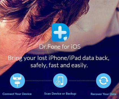 Dr.Fone - iPhone Data Recovery