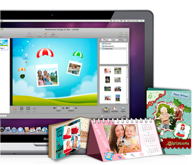 Iphoto card make greeting cards on mac using iphoto card builder icollage for mac m4hsunfo