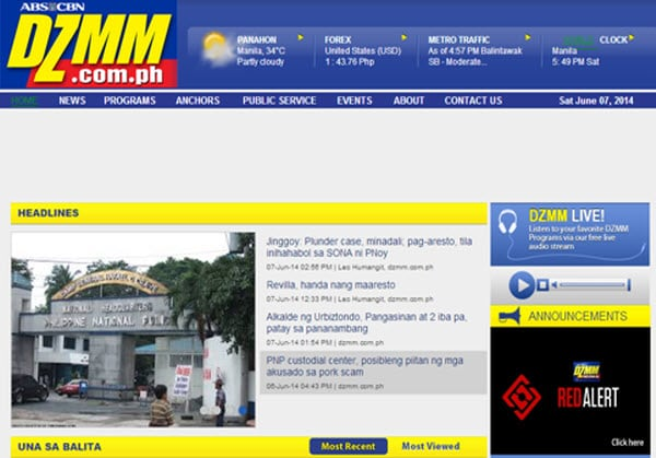 Radio patrol 630-DZMM-AM 630