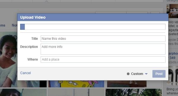 8 mẹo để tải lên Facebook video