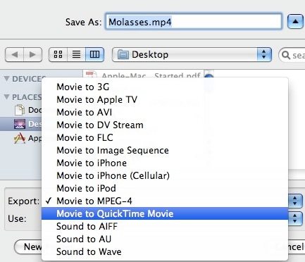 imovie format,what can you import and export?
