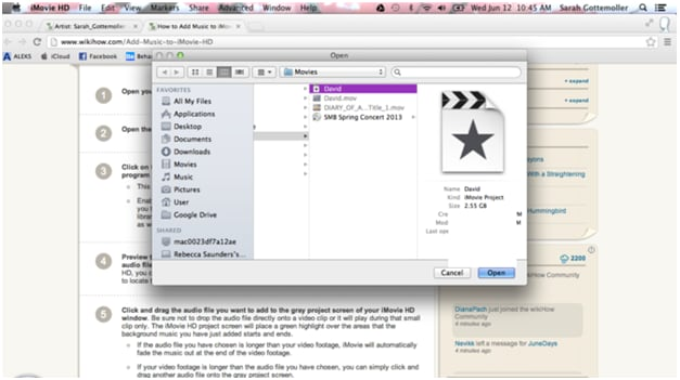 How to add music/songs to iMovie on Mac/iPhone/iPad
