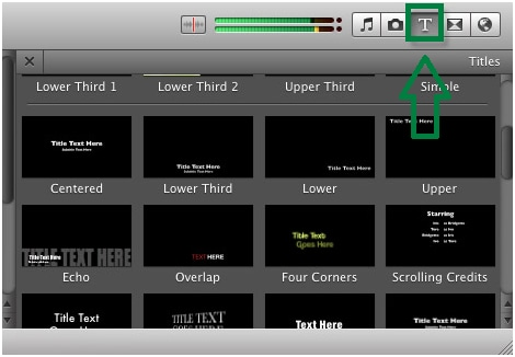 Add textsubtitlescaptions to imovie on mac and ipad imovie 9 tips ccuart Image collections