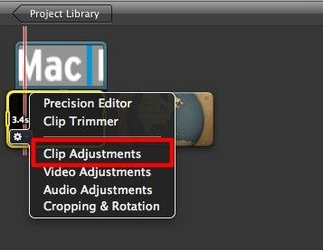 imovie effects for Mac