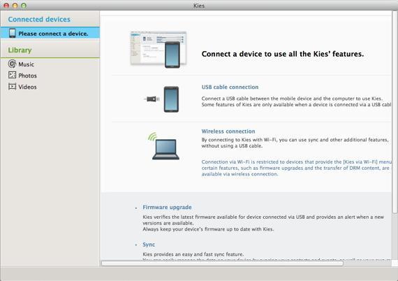 how to open samsung phones on mac