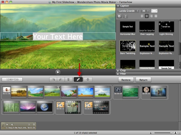 play slideshow mac